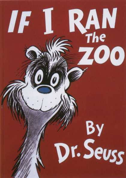 Children's Books - If I Ran the Zoo (1950s)
