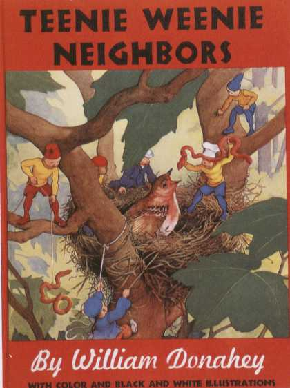 Children's Books - Teenie Weenie Neighbors (1940s)
