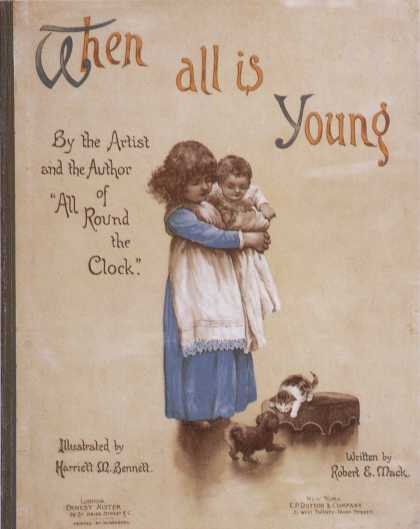 Children's Books - When All Is Young (1880s)