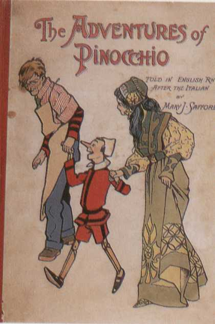 Children's Books - The Adventures of Pinochio