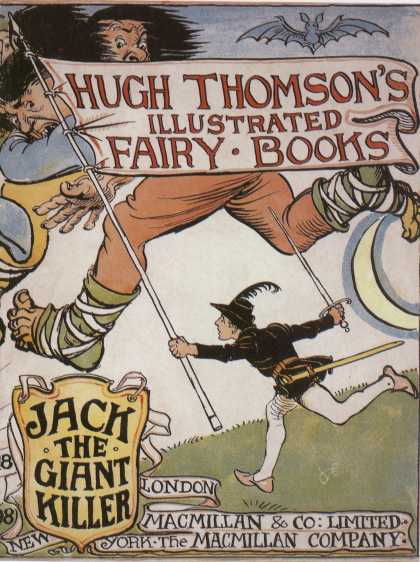 Children's Books - Jack the Giant Killer (1890s)