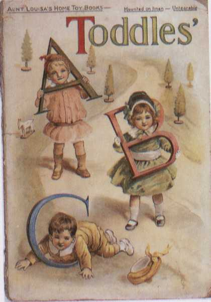 Children's Books - Toddles' ABC (1890s)