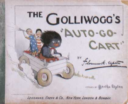 Children's Books - The Golliwogg's Auto-Go-Cart (1900s)