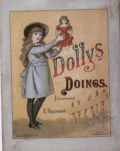 Children's Books - Dolly's Doings (1890s)