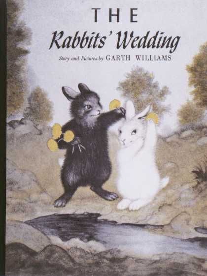 Children's Books - The Rabbits' Wedding (1950s)