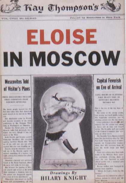 Children s books eloise in moscow 1950s