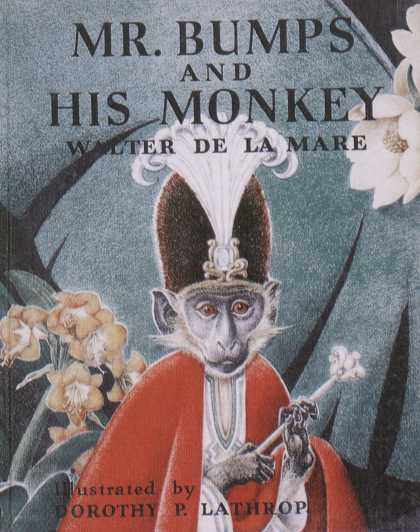 Children's Books - Mr. Bumos and His Monkey (1940s)