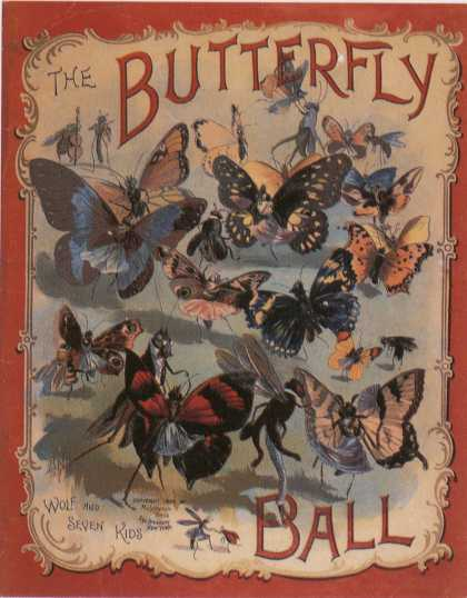 Children's Books - Butterfly Ball (1900s)