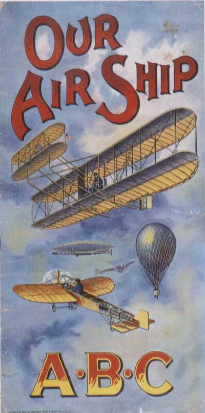 Children's Books - Our Air Ship ABC (1910s)