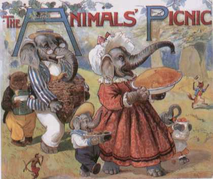 Children's Books - The Animals' Picnic (1910s)