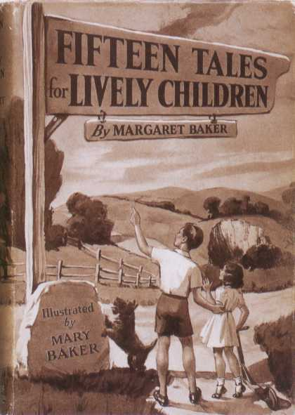 Children's Books - Fifteen Tales for Lively Children (1930s)