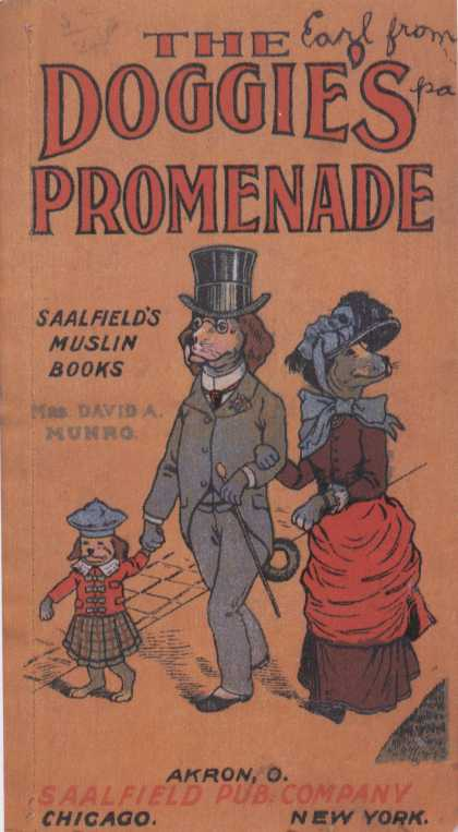 Children's Books - The Doggies Promenade (1900s)