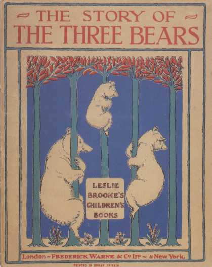 Children's Books - The Story of the Three Bears