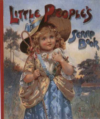 Children's Books - Little People's Scrap Book (1900s)