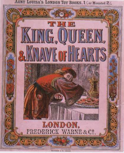 Children's Books - The King, Queen & Knave of Hearts (1870s)
