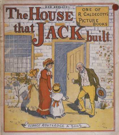 Children's Books - The House That Jack Built (1870s)