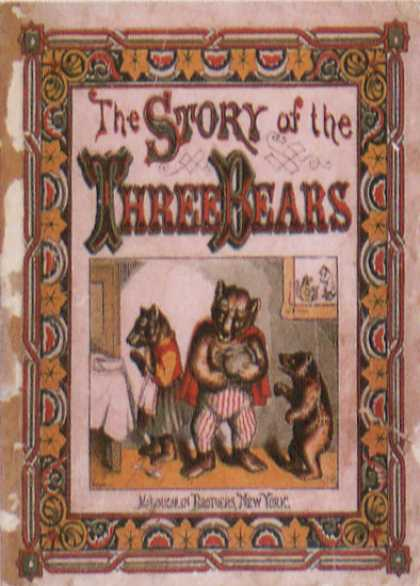 Children's Books - The Story of Three Bears