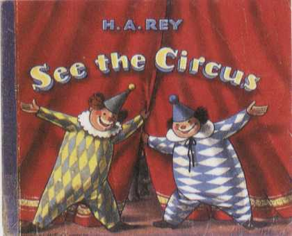 Children's Books - See the Circus (1950s)