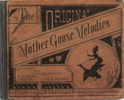Children's Books - The Original Mother Goose Melodies