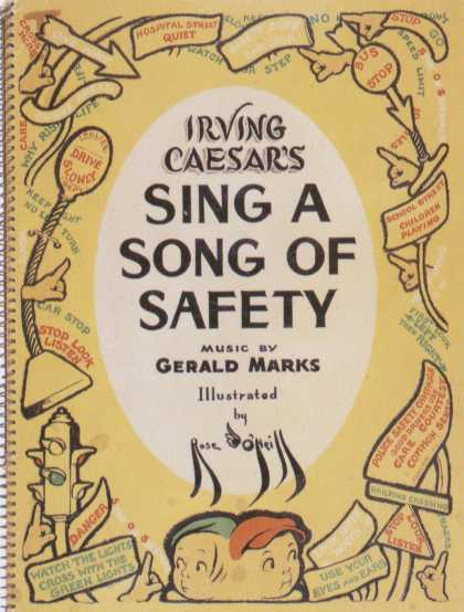 Children's Books - Sing a Song of Safety (1930s)