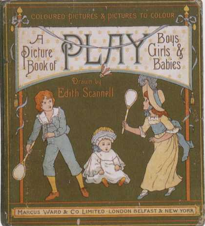 Children's Books - A Picture Book of Play (1880s)