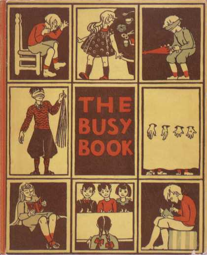 Children's Books - The Busy Book (1930s)