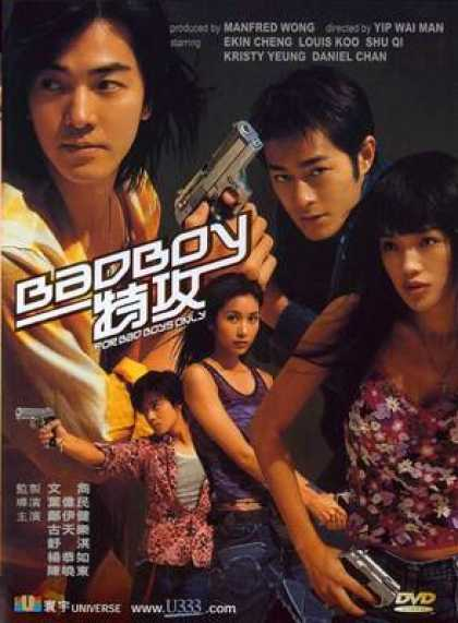 Chinese DVDs - For Bad Boys Only