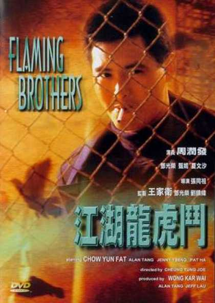 Chinese DVDs - Flaming Brothers