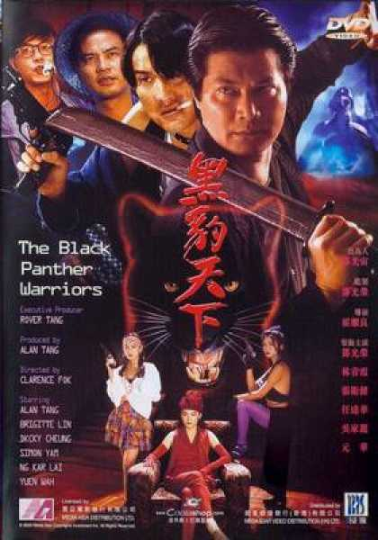 Chinese DVDs - The Black Panther Warriors