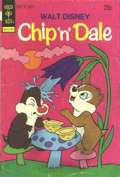 Chip 'n' Dale 23 - Flower - Stem - Squirt - Nuts - Toadstools