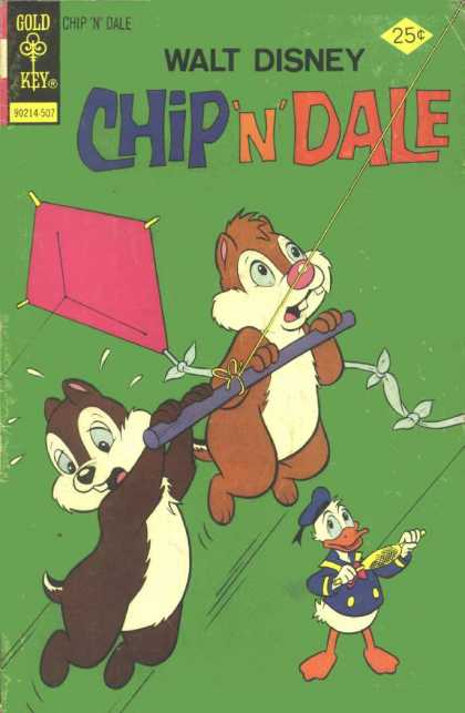 Chip 'n' Dale 34 - Kite - Chipmunks - Donald - Disney - Duck