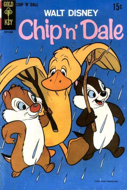 Chip 'n' Dale 4 - Gold Key - Disney - Duck - Wings - Twigs