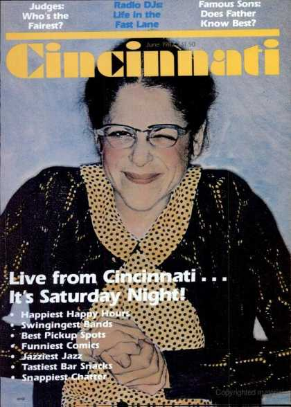 Cincinnati Magazine - June 1982