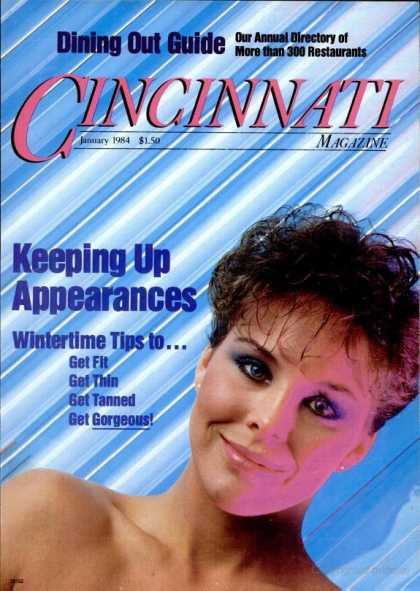 Cincinnati Magazine - January 1984