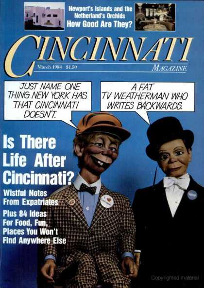 Cincinnati Magazine - March 1984