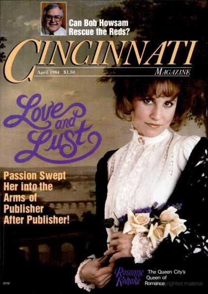 Cincinnati Magazine - April 1984