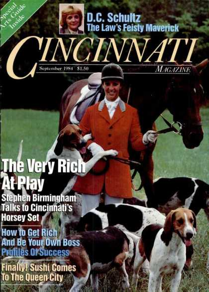 Cincinnati Magazine - September 1984