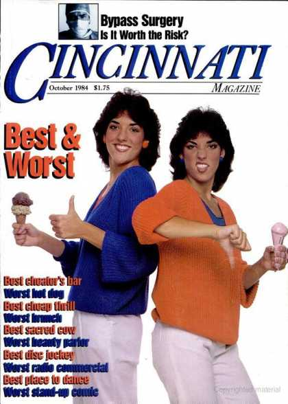Cincinnati Magazine - October 1984