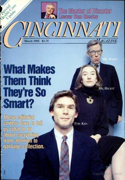 Cincinnati Magazine - March 1985