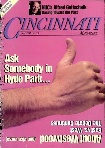 Cincinnati Magazine - July 1985