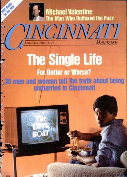 Cincinnati Magazine - September 1985