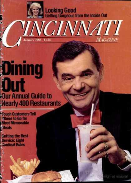 Cincinnati Magazine - January 1986