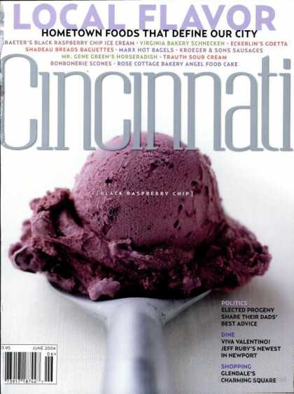 Cincinnati Magazine - June 2004