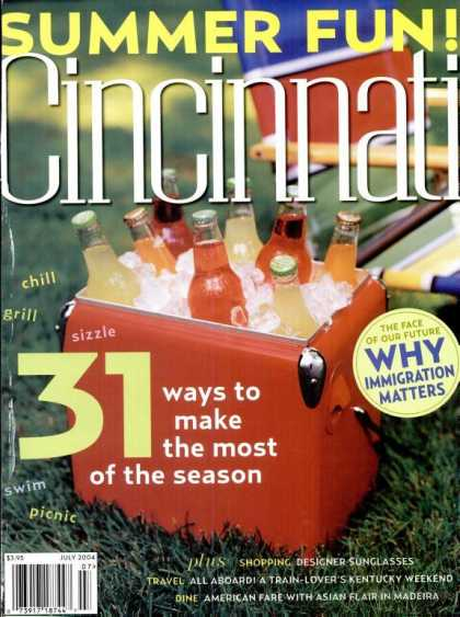 Cincinnati Magazine - July 2004