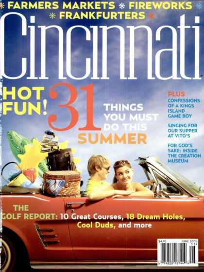 Cincinnati Magazine - June 2005