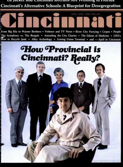 Cincinnati Magazine - April 1976