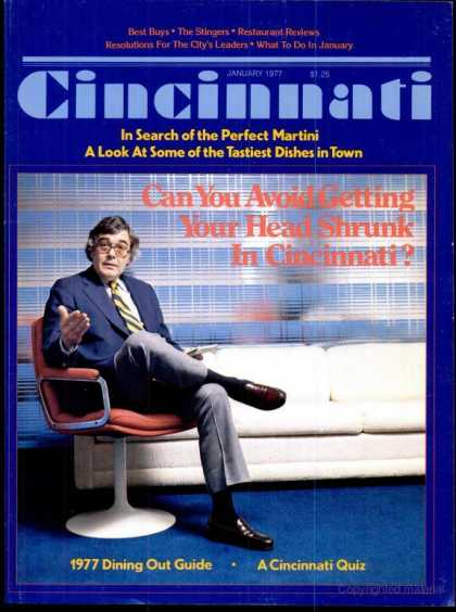 Cincinnati Magazine - January 1977
