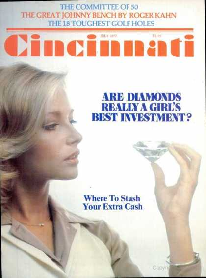 Cincinnati Magazine - July 1977