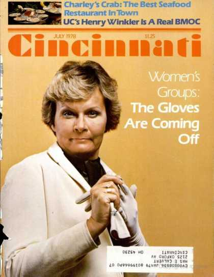 Cincinnati Magazine - July 1978