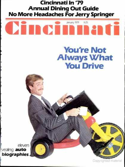 Cincinnati Magazine - January 1979